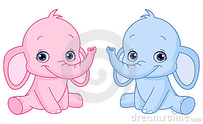 ελέφαντες μωρών