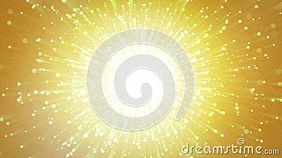 Ελαφρά κινούμενα σωματίδια απόθεμα βίντεο