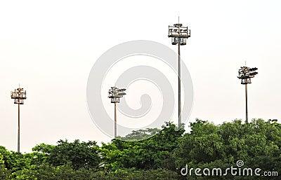 ελαφριοί πύργοι