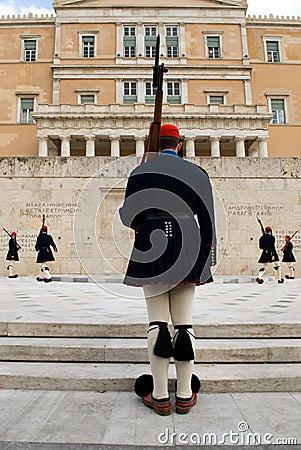 ελληνικές φρουρές