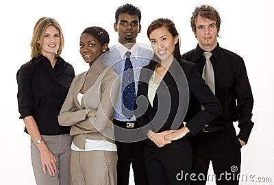 επιχειρησιακή διαφορετική ομάδα