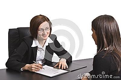 εργασία συνέντευξης