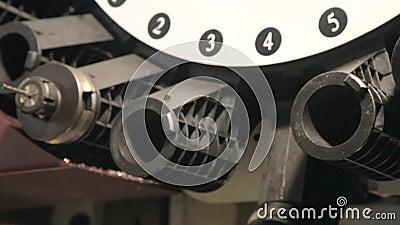 Εργαλειομηχανή άλεσης απόθεμα βίντεο