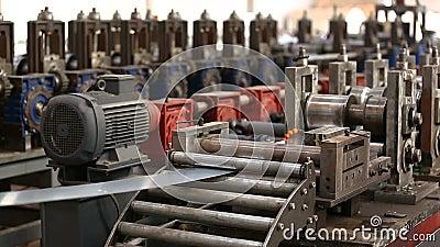 Εργοστάσιο σιδήρου απόθεμα βίντεο