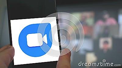 Εφαρμογές βιντεοδιάσκεψης Google Hangout Microsoft Teams Πάρτι Whatsapp Google Duo Skype Business Zoom Σύσκεψη Cisco φιλμ μικρού μήκους