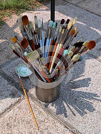 ζωγράφος βουρτσών
