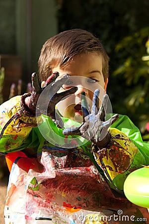 ζωγραφική 2 δάχτυλων