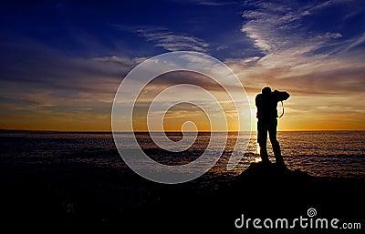 ηλιοβασίλεμα φωτογράφων