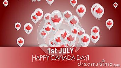 ημέρα του Καναδά ευτυχής