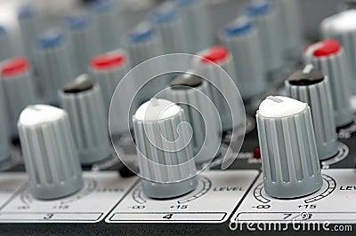 Ηχητική κονσόλα ελέγχου