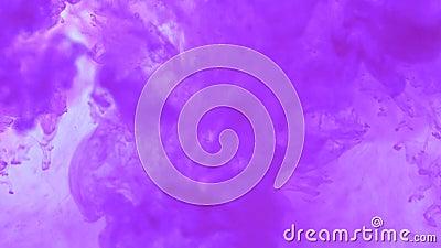 Η έκρηξη watercolor στο νερό αφηρημένο watercolor ανασκόπησης φιλμ μικρού μήκους