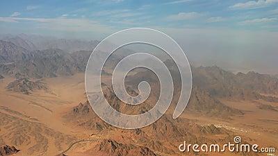 Η έρημος του Σινά και ο δρόμος - Αεροφωτογραφία φιλμ μικρού μήκους