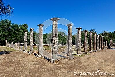 η αρχαία Ολυμπία