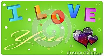 η κάρτα ι σας αγαπά