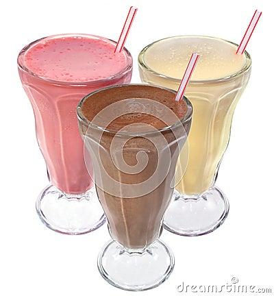 η κρέμα πίνει τον πάγο milkshake