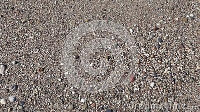 Θαλάσσια κύματα στην άμμο της παραλίας φιλμ μικρού μήκους
