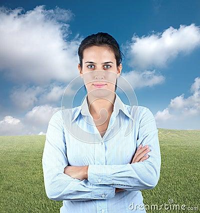Θετική επιχειρηματίας