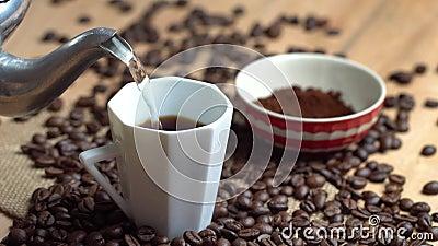 Κάνετε ένα φλιτζάνι του καφέ φιλμ μικρού μήκους