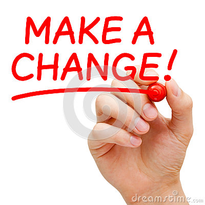 Κάνετε μια αλλαγή