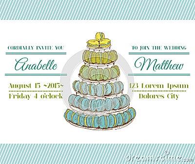 Κάρτα γαμήλιας πρόσκλησης