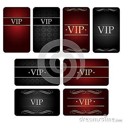 καθορισμένος VIP καρτών