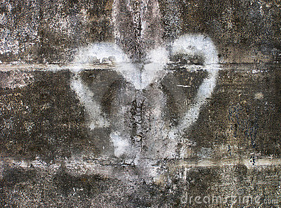 καρδιά γκράφιτι