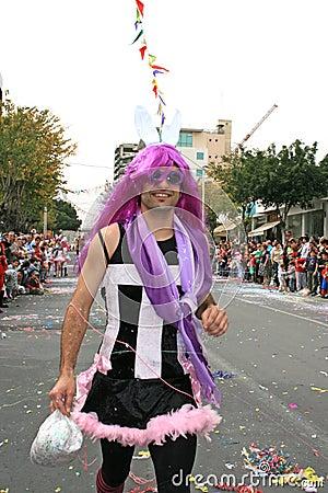 καρναβάλι Εκδοτική Φωτογραφία
