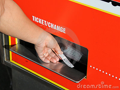 καροτσάκι εισιτηρίων
