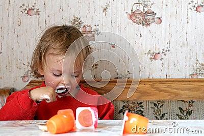 κατανάλωση του γιαουρτιού