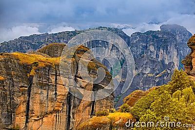 Καταπληκτικό τοπίο σε Meteora
