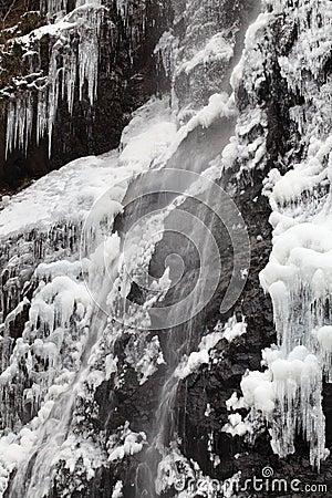 Καταρράκτης το χειμώνα