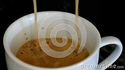 καφές ένας απόθεμα βίντεο