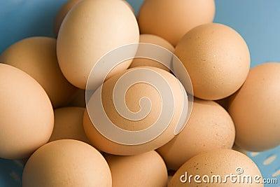 καφετιά αυγά