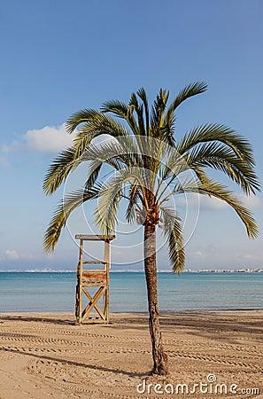 Κενή παραλία