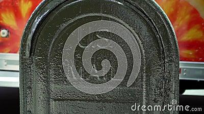 Κιβώτιο επιστολών αμερικανικού ταχυδρομείου