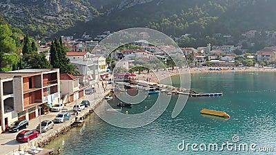 Κλάκ - Κροατία απόθεμα βίντεο