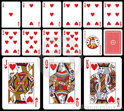 κλασικό παιχνίδι καρδιών κ