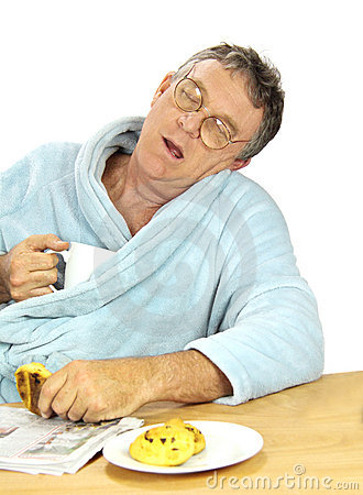 κοιμισμένο άτομο nerdy