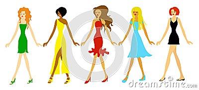 κορίτσια μόδας