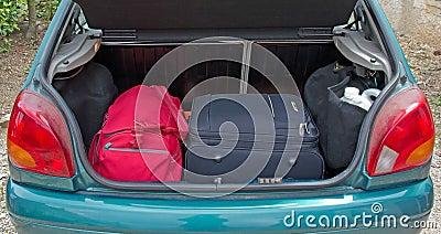 κορμός αποσκευών αυτοκ