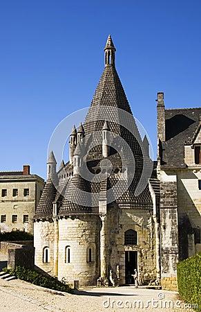 Abbaye de fontevraud γαλλία κουζίνες romanesque