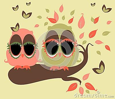 Κουκουβάγιες Whimsy
