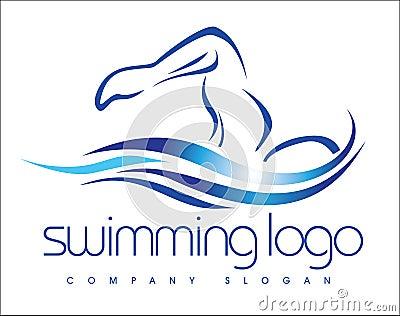 Κολυμπώντας λογότυπο