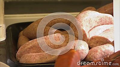 Κρέας άγριων κάπρων που πωλείται στην υπεραγορά φιλμ μικρού μήκους