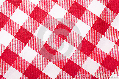 Κόκκινο και άσπρο τραπεζομάντιλο