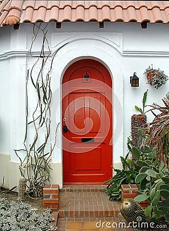 κόκκινο πορτών