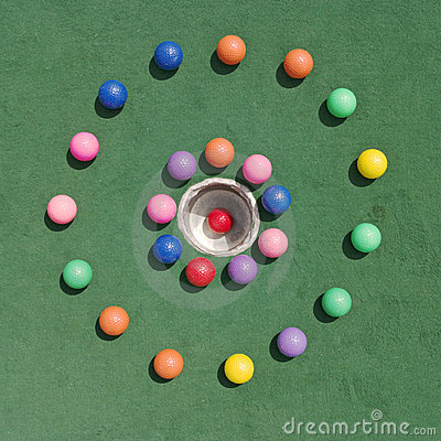 κύκλος golfballs