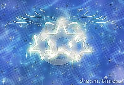 Λαμπρά καπνώδη αστέρια πυράκτωσης
