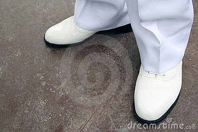 λευκό παπουτσιών