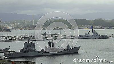 Λιμένας στα ιταλικά πόλη Λα Spezia, oiler ξαναγεμίσματος, ναυτικό βοηθητικό σκάφος φιλμ μικρού μήκους
